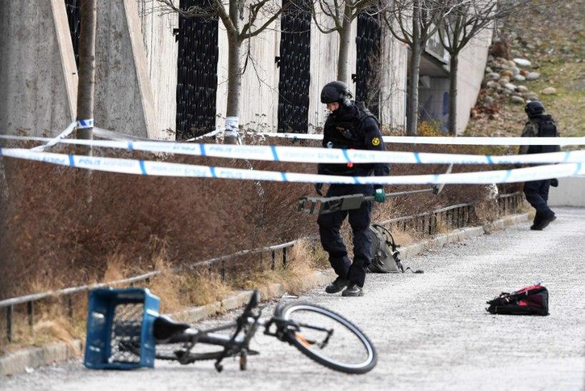 Stockholmi metroojaama plahvatuses hukkus inimene