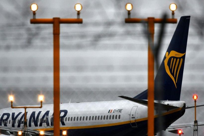 Ryanairi lennukile saab 15. jaanuarist kaasa võtta vaid ühe koti