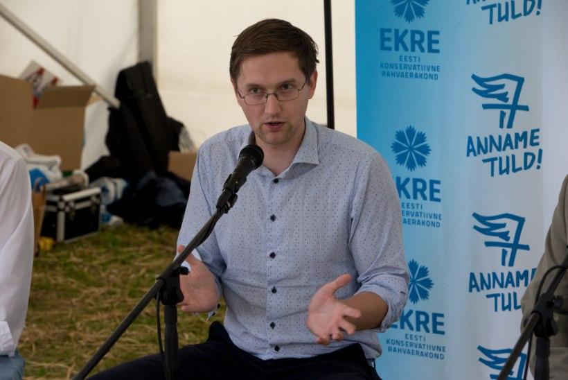 Jaak Madison   Eesti välispoliitika peab lähtuma meie huvidest, mitte Palestiina kaitsmisest