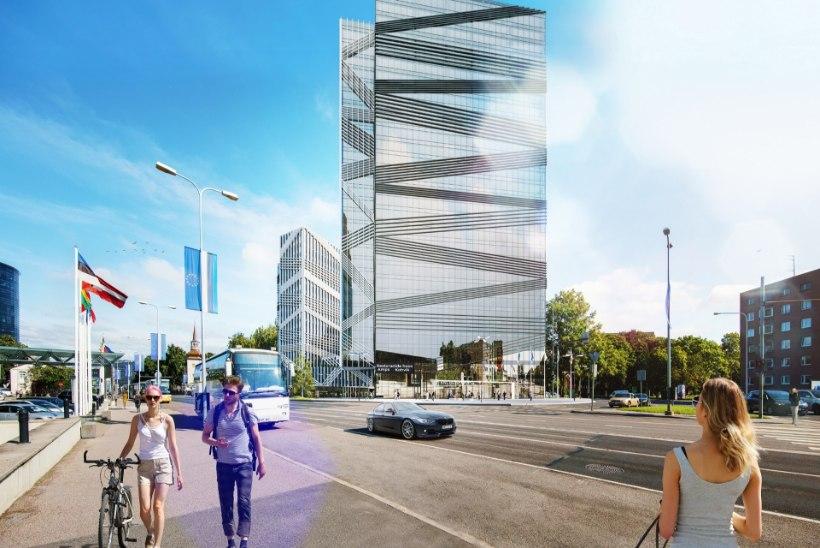 FOTOD | Olümpia hotelli vastu kerkib Eesti kõrgeim büroohoone
