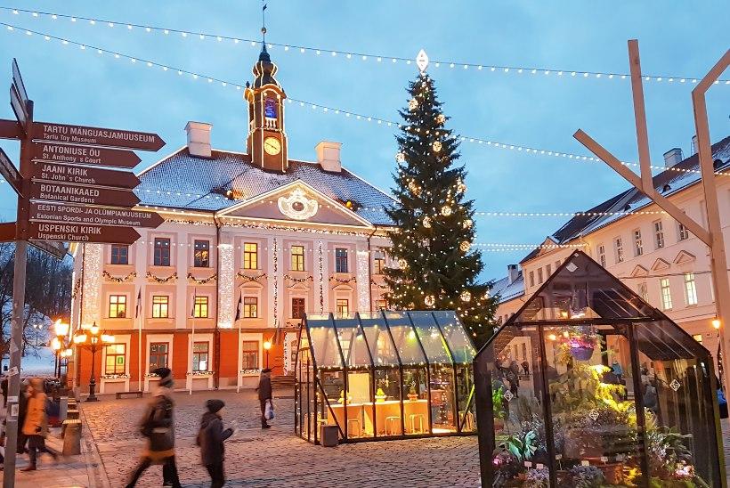 Vene aastavahetuse turist jõuab juba Lõuna-Eestisse