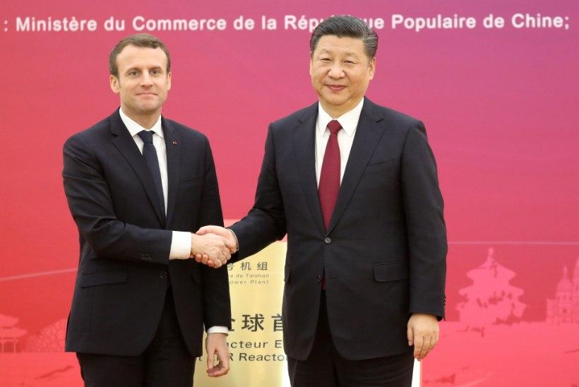 HOBUSEDIPLOMAATIA: Prantsusmaa president kinkis Hiina kolleegile hobuse