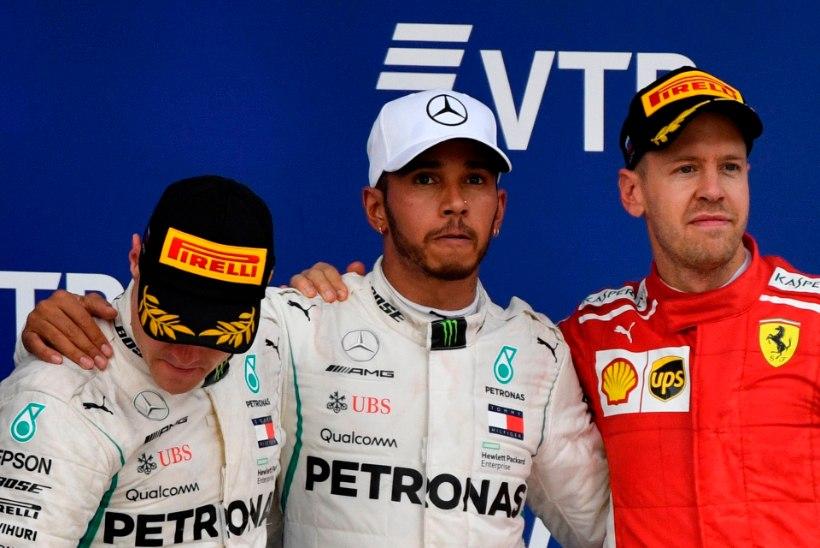 Vettel võitlusest Hamiltoniga: ma ei tahtnud olla tõeline s***pea