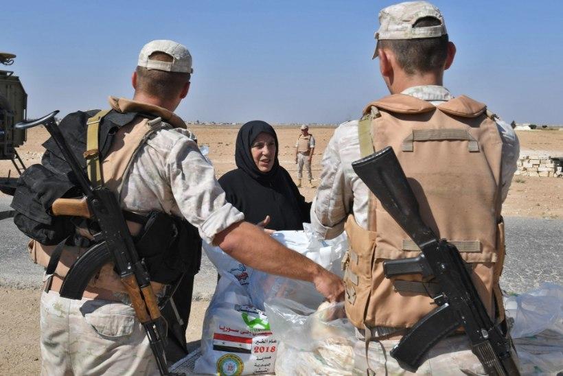 Venemaa tunnistas 112 sõduri hukkumist Süürias