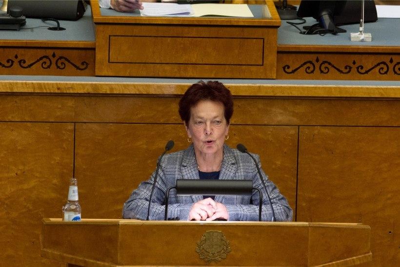 Krista Aru: laisk inimene leiab võimaluse, kuidas riigikogus mitte midagi teha