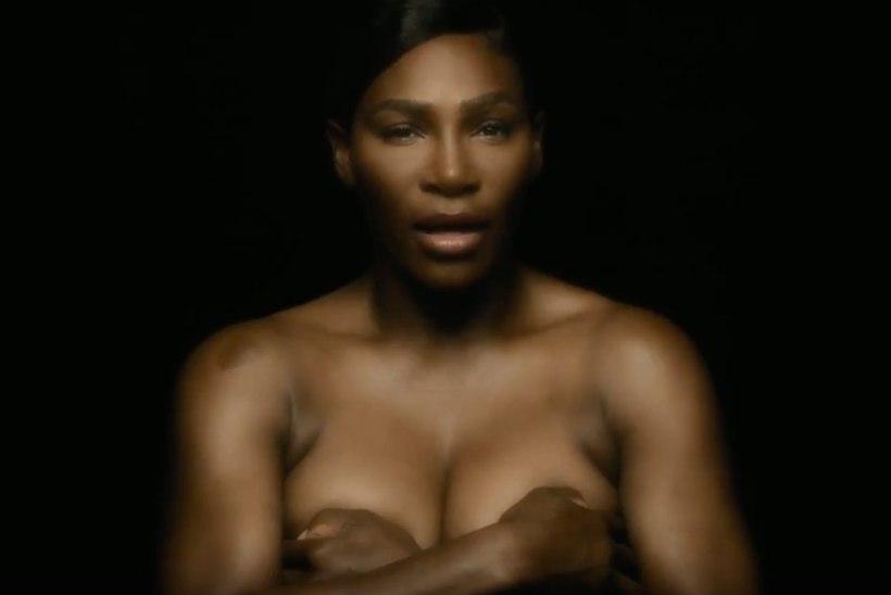 Serena Williams paljastas ülla eesmärgi nimel oma rinnad