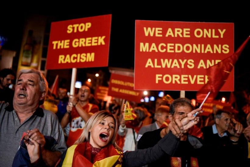 Makedoonia nimemuutust toetas 90% hääletanutest