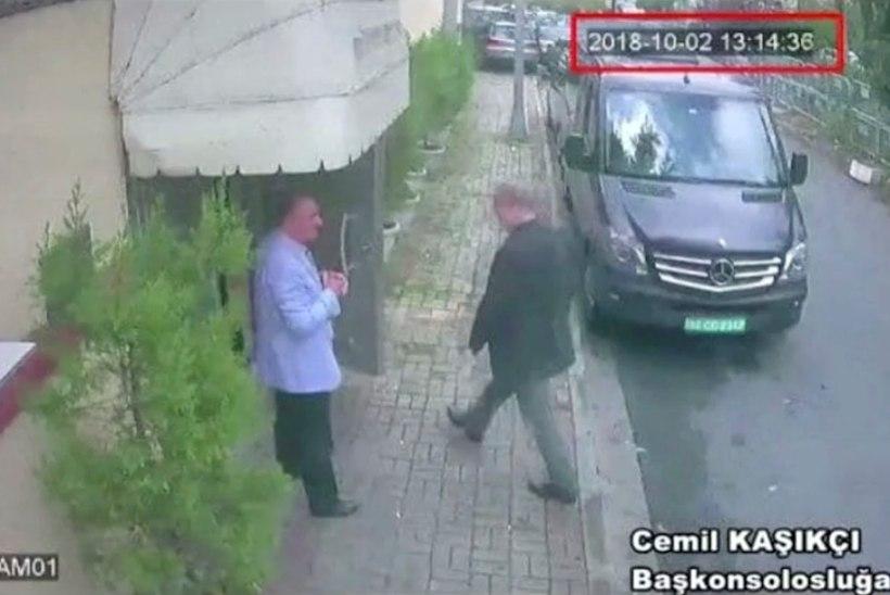 Jamal Khasoggi kadumine: Türgi meedia avaldas video Istanbulis viibinud Saudi luureametnikest