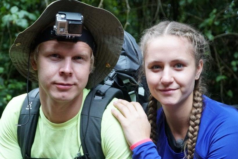 Kilimanjaro tipust kanderaamil alla toodud Cathlin: mõtlesin, kas tõesti on minul ainukesena nii raske