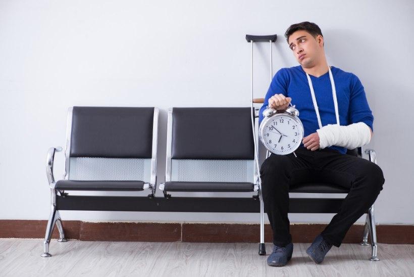 JULM VÕIDUJOOKS AJAGA: ehkki eriarsti abi on vaja kohe, võib järjekord olla kuudepikkune