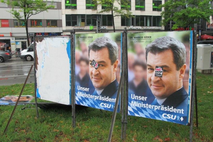 Angela Merkeli liitlased Baieri liidumaal on suures hädas