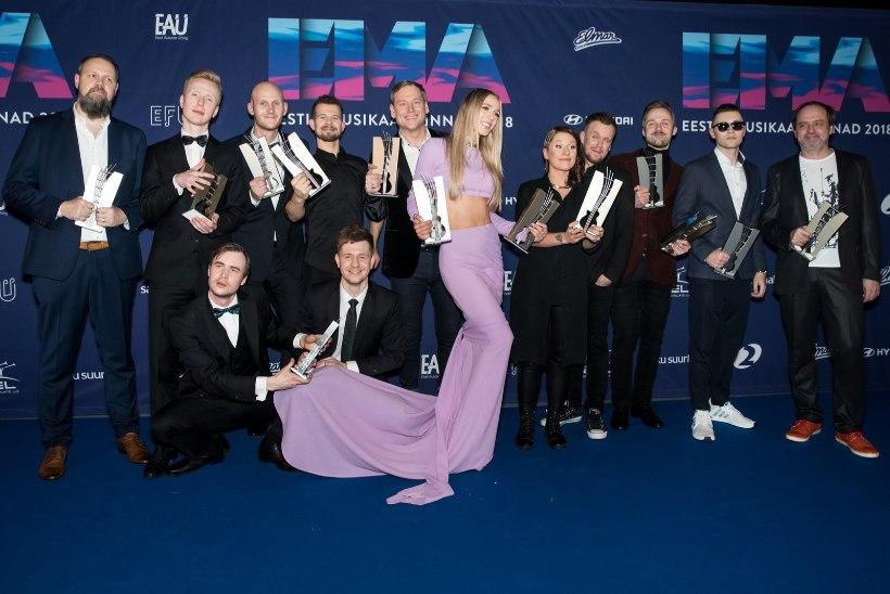 Eesti muusikaauhindade gala toimub taas Saku suurhallis