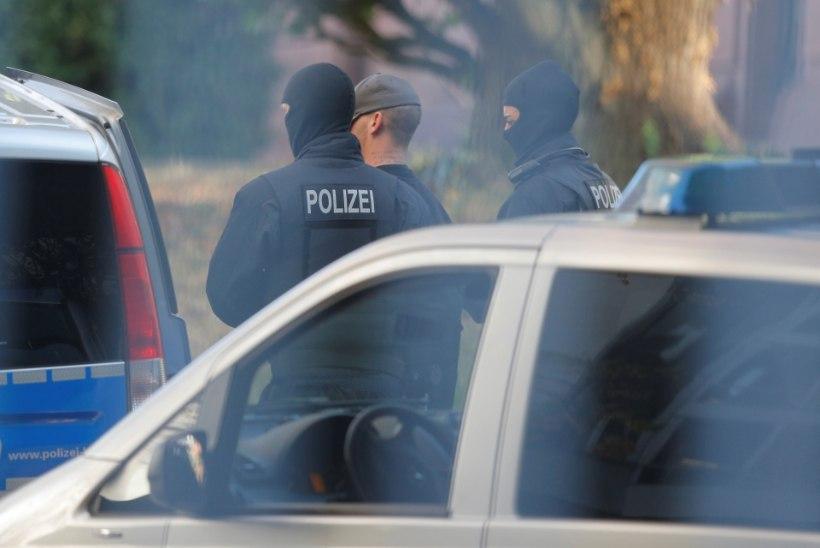 Saksamaal tabati varastatud autost kaks eestlast