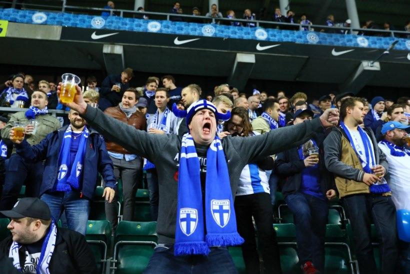 GALERII   Vaata, kes tulid Eesti-Soome jalkamängule kaasa elama!