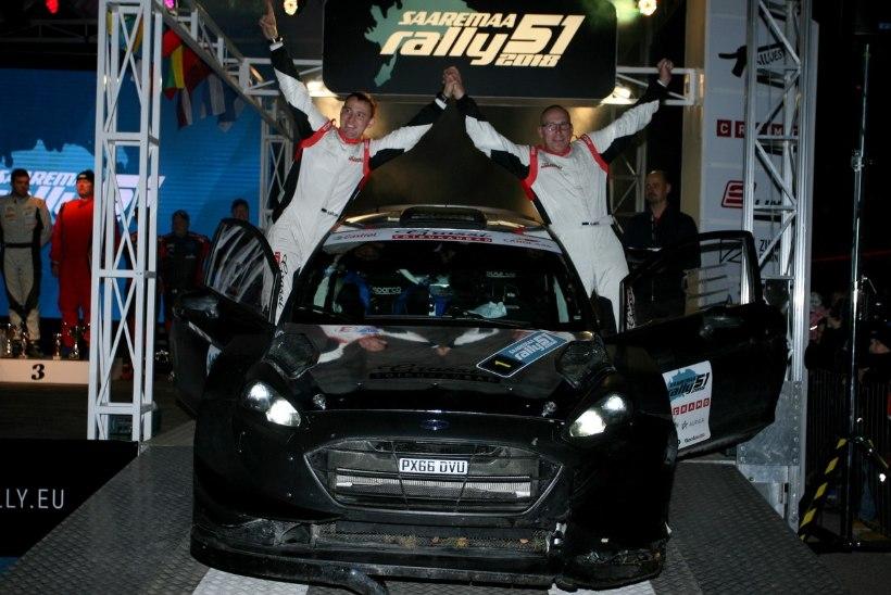 Saaremaa rallil võimsa WRC-autoga sõitnud Georg Gross: tahan tänada Ott Tänakut, kes mulle see võimaluse pakkus