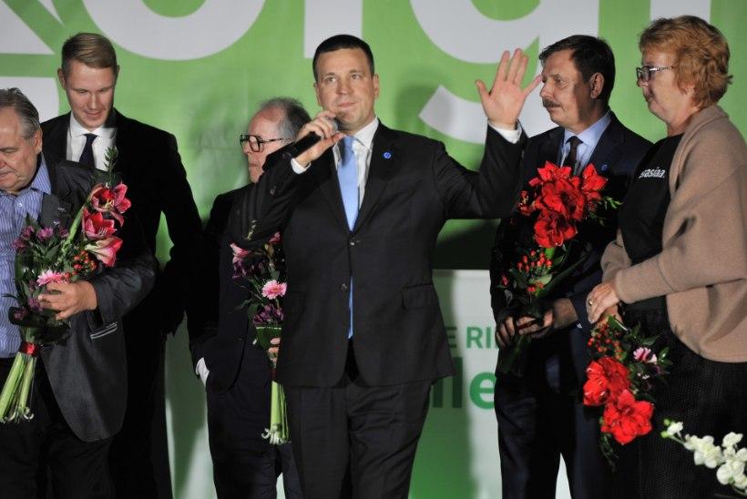 Kindel liider: Ratas valiti ligemale tuhande häälega tagasi erakonna esimeheks