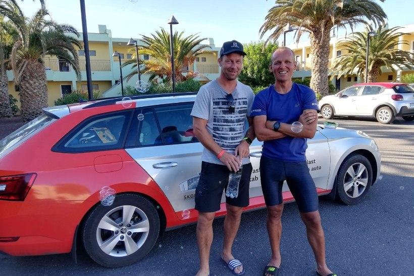USKUMATU MEES! 20 triatlonit läbinud Ratasepp ei näita välja väsimuse märkigi ja sõidab autoga Hispaaniast koju
