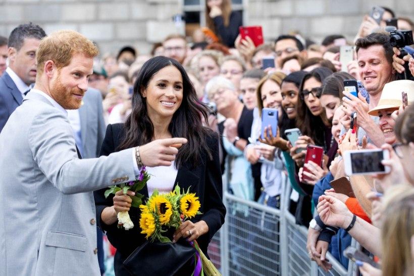 Kas Meghan oli juba rase, kui Harry uudishimutseja välja naeris?