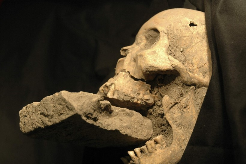 """Müstiline leid: Itaalias kaevati välja """"vampiirilapse""""  haud"""