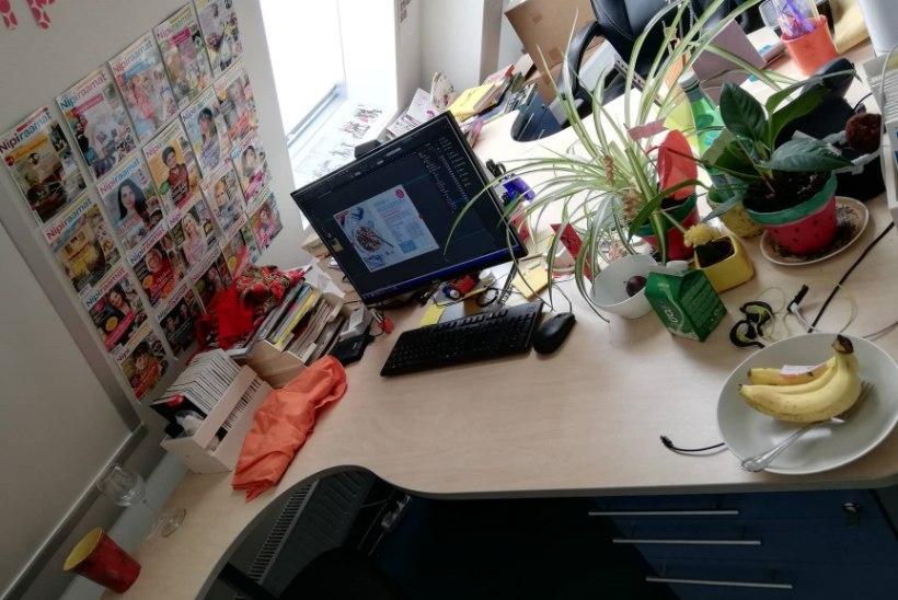 BLOGI | Mis on sinu töölaual? Nipiraamatu kujundaja näitab enda oma