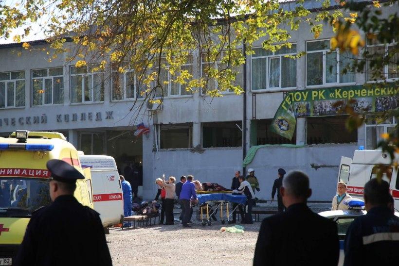 Õudus Krimmi tehnikakoolis: õpilane tappis ja haavas kümneid kaaslasi