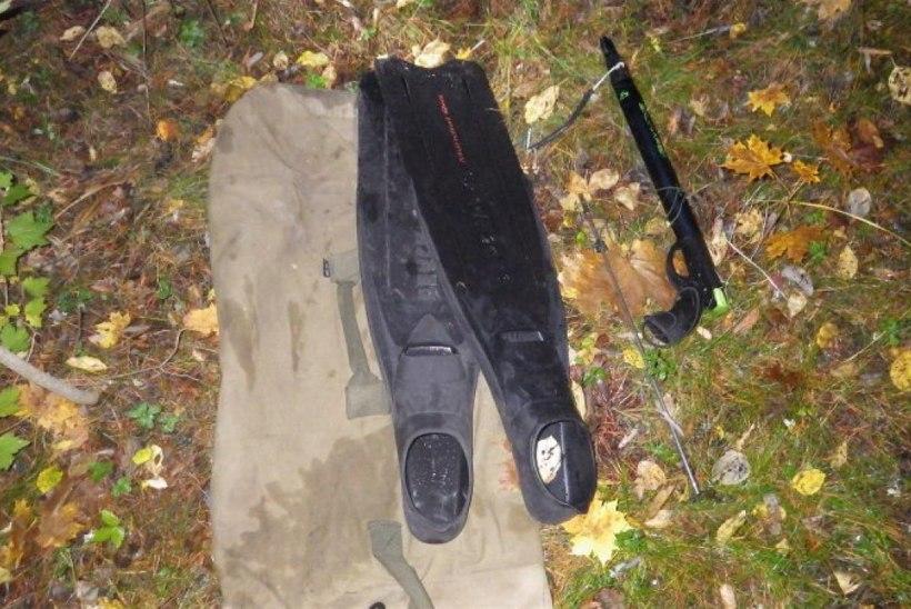 Inspektorid tabasid Pirita jõel lõhepüügilt kaks allveekalastajat
