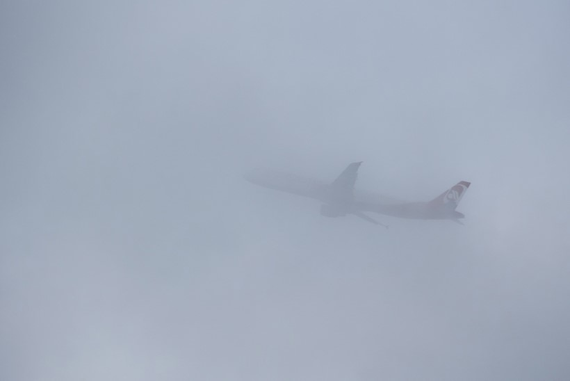 Tallinnas on lennuliiklus udu tõttu häiritud, kolm lennukit tiirutasid pikalt taevas