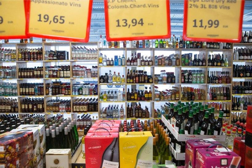 Alkoaktsiisi alandamine üksi ei aita, sest Eesti kaupmehed on liiga ahned