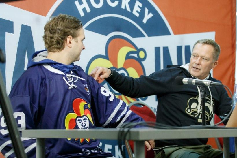 KHLi mäng Tallinnas - Jokerit teeksid sellest meeleldi traditsiooni