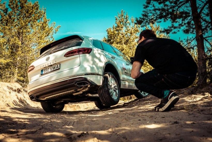 Volkswagen Touareg: nimetage või lipulaevmaasturiks, nimi autot ei riku!