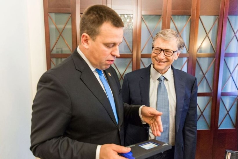 Bill Gatesist sai Eesti e-resident