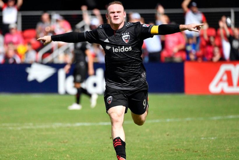 VIDEO | Superhoos Wayne Rooney lõi USAs järjekordselt ägeda värava