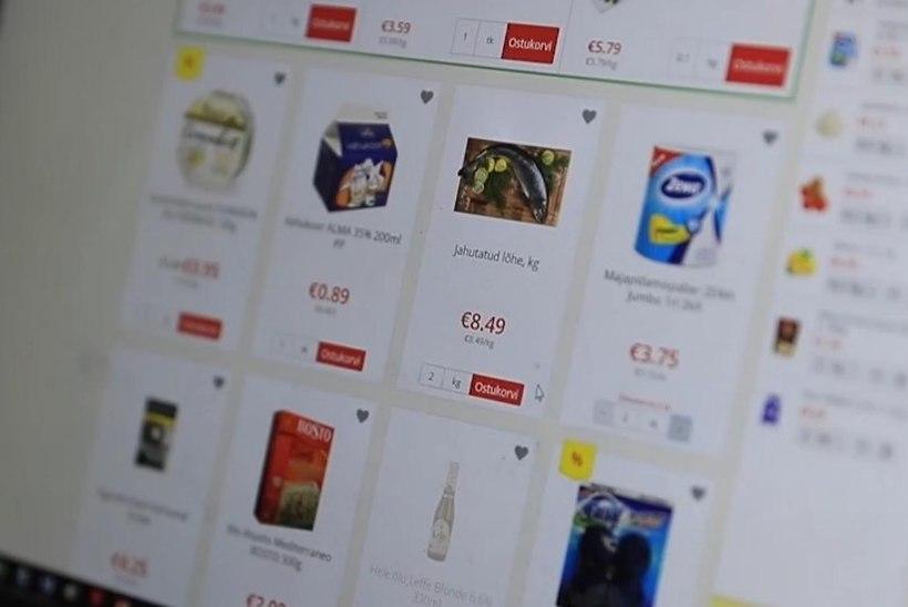 ÕL VIDEO JA GALERII | Lõputud nummerdatud kastivirnad, hiigelkäru ja autokülmik ehk Kuidas jõuab toidukaup veebipoest kliendi ukseni?
