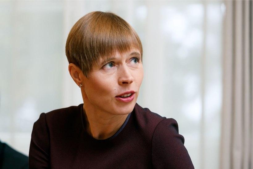 President Kaljulaid: rahvusvahelises vaates on Eesti maksusüsteem edukas