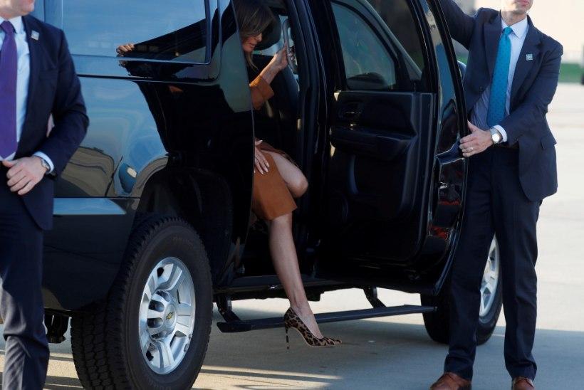 FOTOD | Melania Trump sõitis ilma abikaasata nädalaks Aafrikasse