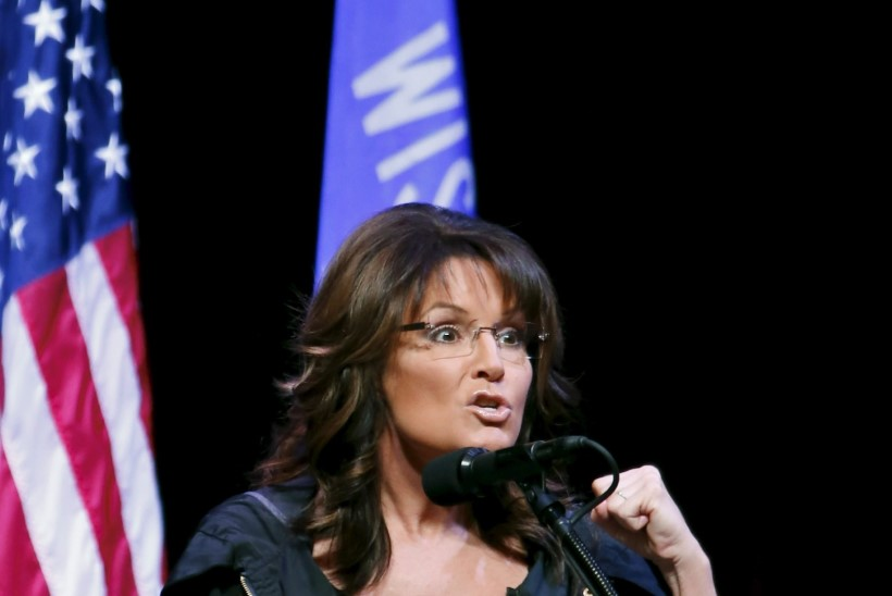 Sarah Palini poega süüdistatakse naisterahva löömises