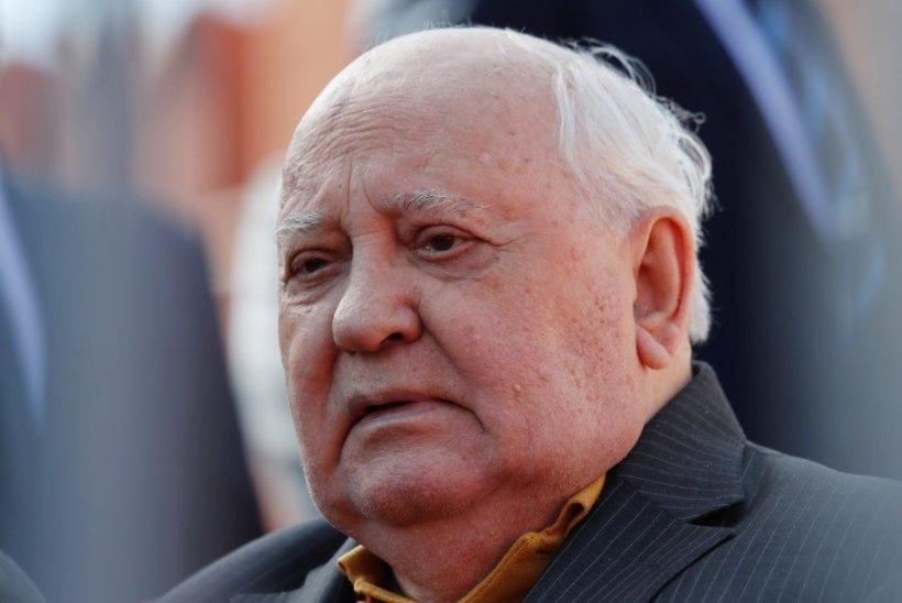 """Gorbatšovi pahandab Trumpi tuumakokkuleppe lõhkumine: """"See näitab mõistuse puudumist!"""""""