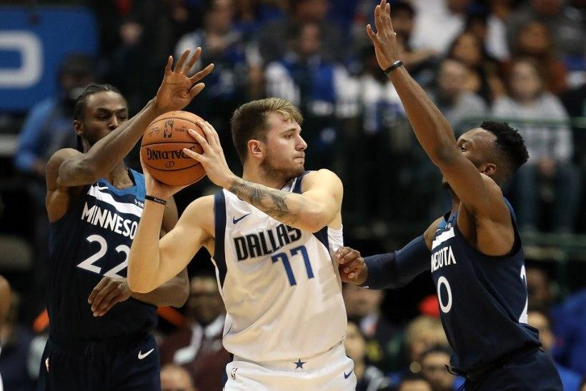 VIDEO | Luka Doncici karjääri teine mäng NBAs kujunes säravaks