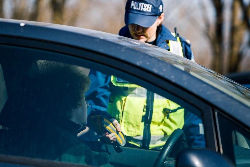 Pühapäeval tabas politsei 24 joobes juhti