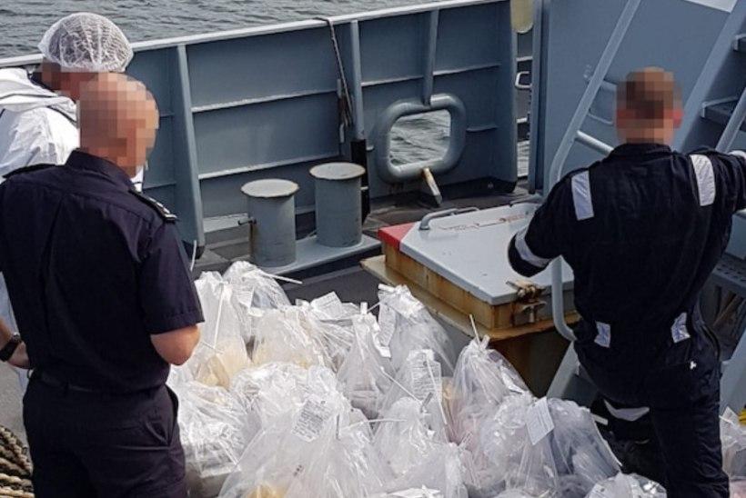 Suurt narkolasti vedanud kapteni saatus selgub uuel aastal