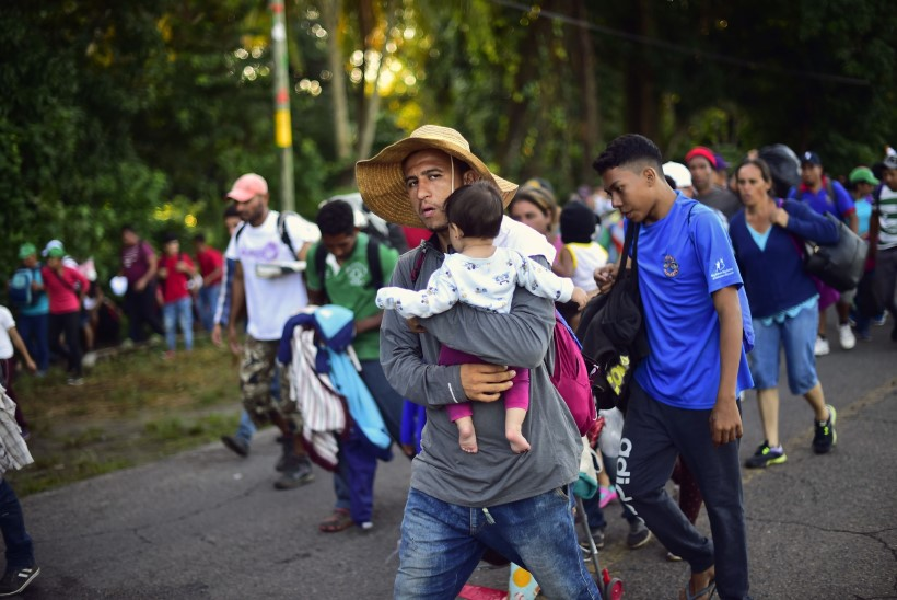 Trump on Kesk-Ameerika peale vihane: nad ei takista inimesi lahkumast!