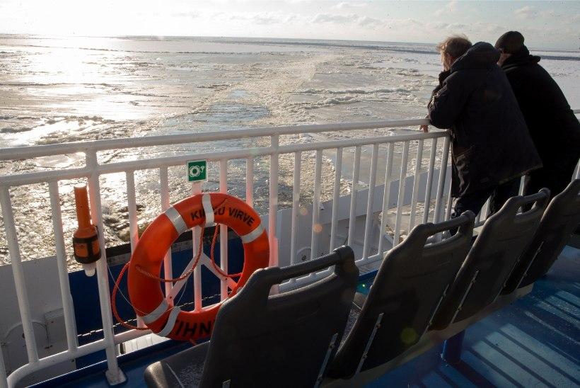 Seoses tugeva tuulega võib esineda häireid Ruhnu ja Kihnu laevaliinidel