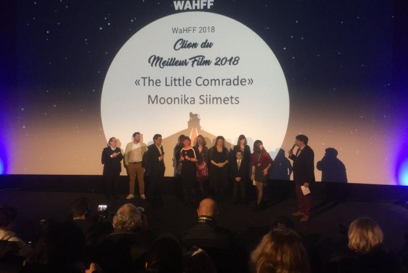 """""""Seltsimees laps"""" pärjati Belgia filmifestivalil peapreemiaga"""