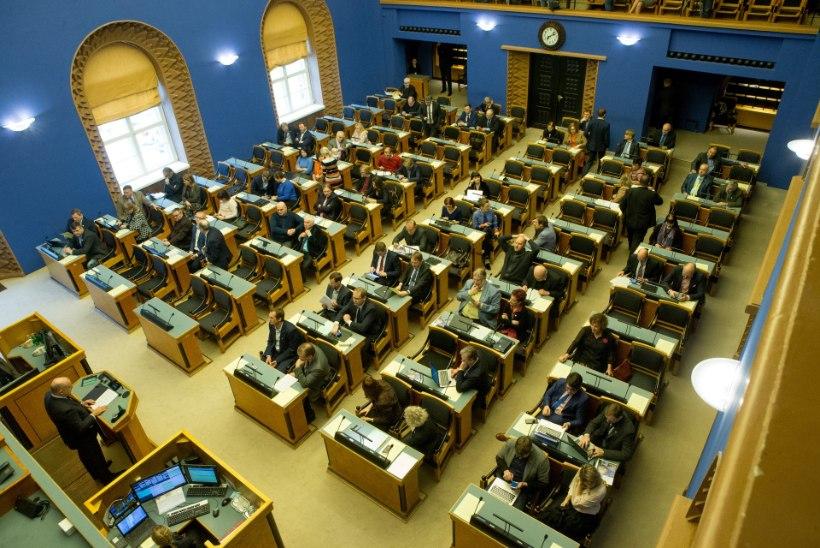 Riigikogu arutas riiklikult tähtsa küsimusena põlevkivienergeetika tulevikku