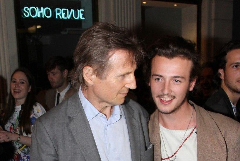 Liam Neesoni poeg võttis ema mälestuseks tema perekonnanime