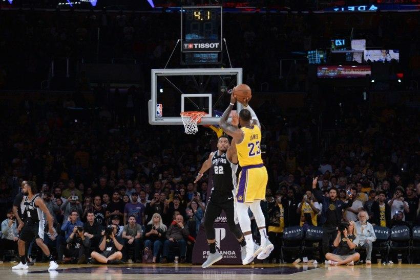 VIDEO | LeBron ja Lakers endiselt kuival, Doncic aitas Dallase taas võidule