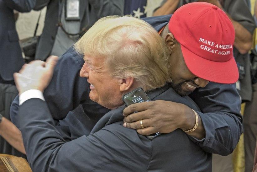 Kim Kardashian selgitas, miks teda ei häiri, et ta abikaasa Kanye West Donald Trumpi toetab