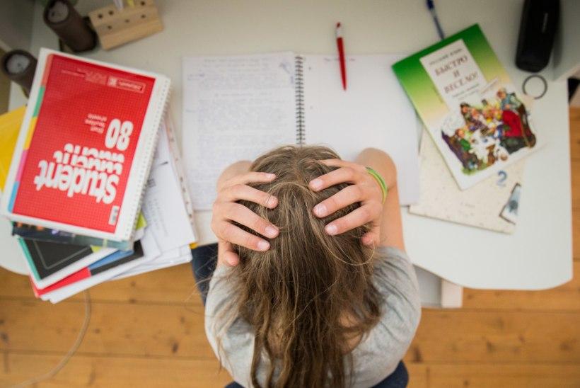 Gümnasist koolikoormusest: lihtsalt ei jõua, tundides ei saa midagi aru, suudan õhtuks vaevu silmi lahti hoida – hobidest pole juttugi!
