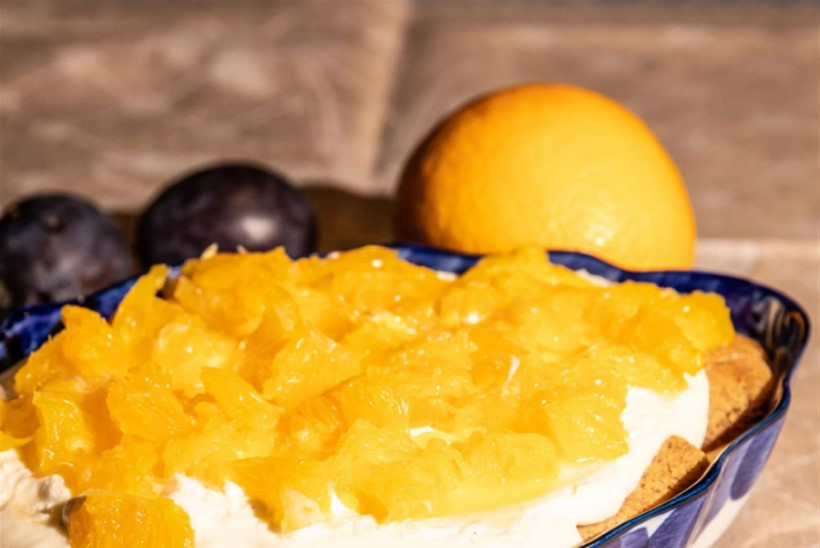 Lahja apelsini-tiramisu