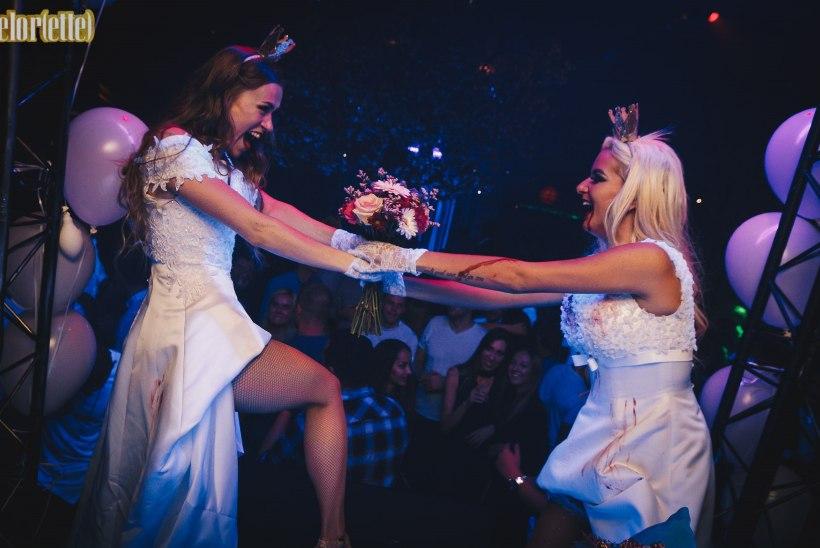 PILDID | Kaklevad pruudid ja pöörane poissmeesteõhtu Klubis Teater